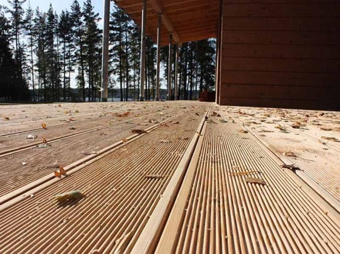 چوب پلاست متریالی جایگزین چوب طبیعی