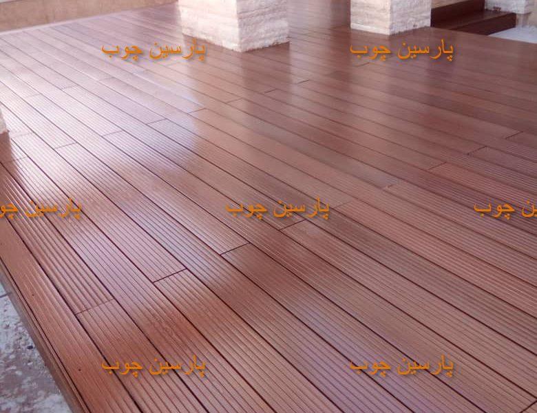 چوب پلاست روف گاردن